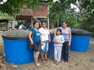 Réservoirs d'eau à Terras Negras